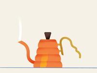 Coffee   Copper Hario Buono Kettle