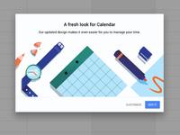 Google Calendar for web.