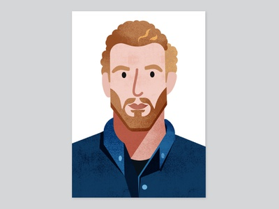 Monocle Portraits | Joni Steiner magazine people editorial portait monocle illustration