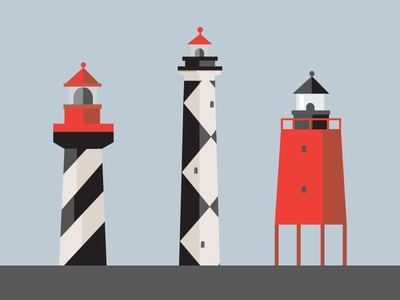 More lighthouses