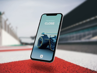 The Formula 1 Future - Onboarding giveaway resource prototype concept interaction animation after effects cinema4d 3dphone mobile userinterface userexperience ux ui 3d onboarding motorsport racing formula 1 formula1