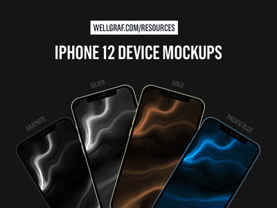 iPhone 12 Device Mockups - Download Resources psd mockup mockup psd graphic psd psd graphic presentation design resource apple event ios download free resource iphone mockup iphone 12 pro iphone 12 iphone device mockup