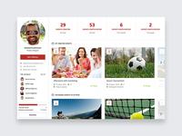 Friendo Events - Profile
