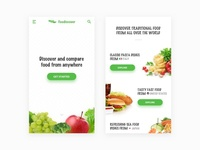 Foodiscover - Mobile Landing