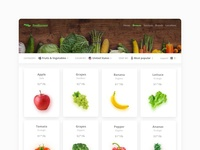 Foodiscover - Browse Grid