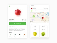 Foodiscover - Mobile product view