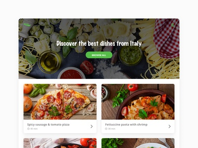 Foodiscover - Discover Dishes