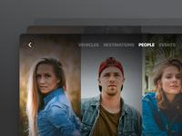 People Browsing - Tablet/Web