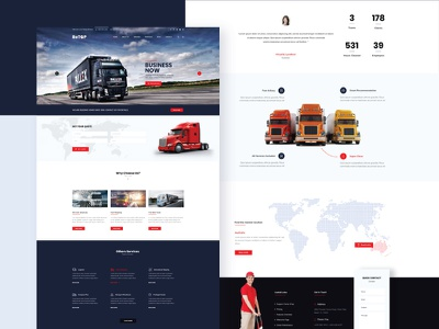 BeTOP - Multipurpose HTML5 Business Template themeforest theme web deisgn ui design uiux wordpress design responsive modern landing page creative corporate business agency business template html5 multi purpose