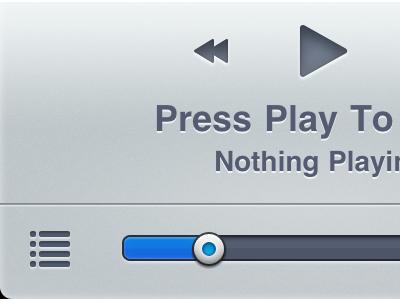 NowPlayer - Retina retina nowplayer misecia iphone ui app music