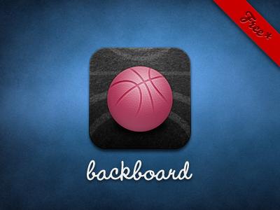 Backboard - Free Today dribbble client ios iphone app misecia backboard ipad basketball