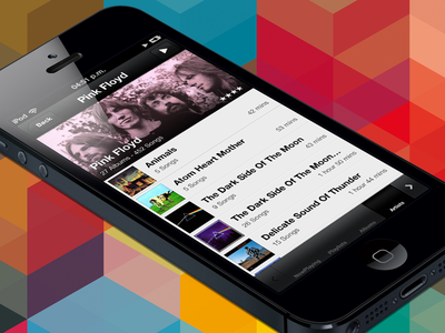 NowPlayer v2 misecia music app ui iphone nowplayer ux ios