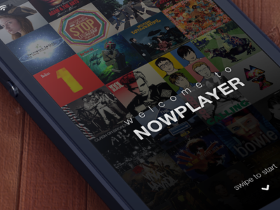 Welcome to NowPlayer music app ui ios nowplayer misecia ux iphone