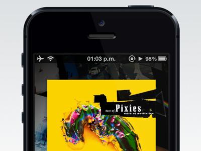 NowPlayer v2 final misecia music ui app nowplayer iphone beta ios ux