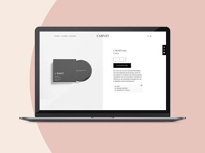 Cosmetica ecommerce design ecommerce design ecommerce design web design ui design