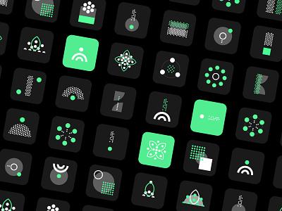 VegetalSignals - Icon Set webdesign branding icon design uidesign