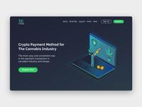 BitCanna Landing Page
