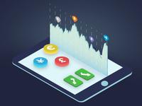 Artwork for Cryptocurrency Trading Platform