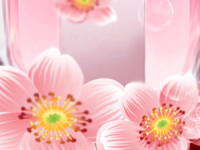 Blossom Perfume Poster