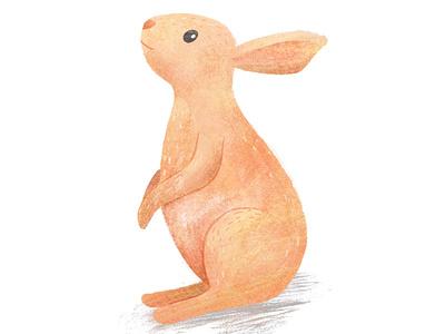 Longing for autumn 🍁 childrens illustration autumn bunny ipad illustration digital animal art procreate illustration