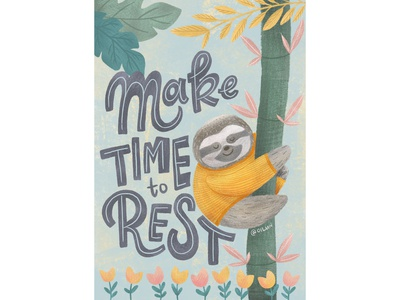 Make time to rest