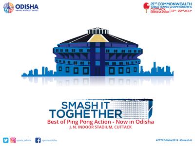 21st Table Tennis Championship Cuttack, Odisha