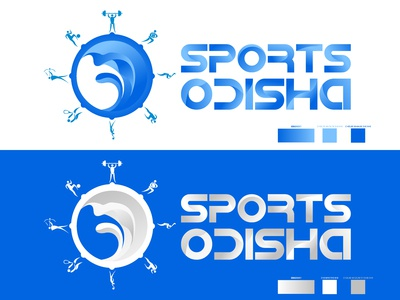 Indentity Concept for Sports Odisha
