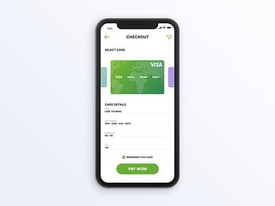 Credit Card App 002 dailyui