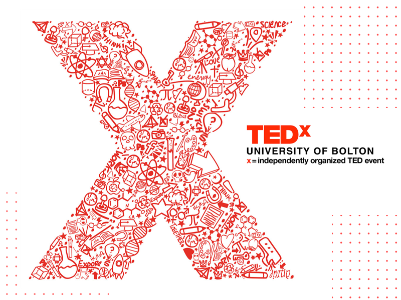 TEDx University Branding Design typography vector logo illustration brand identity brand design branding design branding ted ted talks tedx