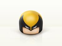 Wolverine Toy head