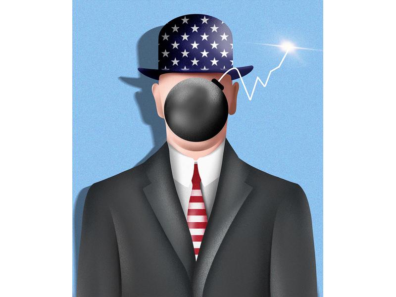 Failed Attempts by British Companies to Crack America businesses economy blue business usa uk publishing telegraph editorial illustration editorial design procreate digital illustrator illustration