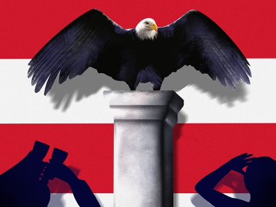 All Eyes Are on the Us Federal Reserve's Next Move us published newspaper news brexit editorial illustration editorial design procreate digital illustrator illustration