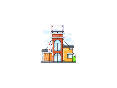Building Free Illustration free building icon building design illustrations freebies freebie building