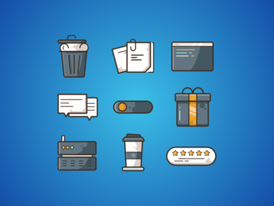 Miscellaneous Icons Free