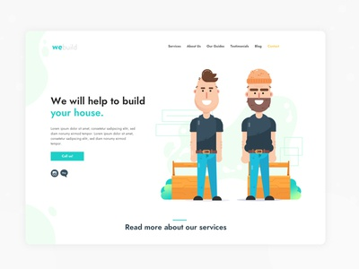 Landing Page House Builders