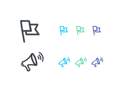 Campaign Icons illustration icons