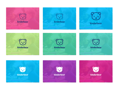 Kinderbear Logo branding logos