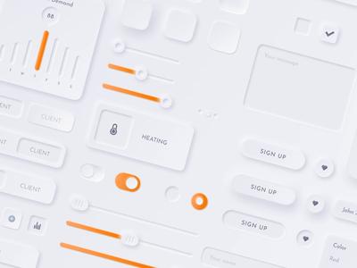 Neumorphic UI Kit