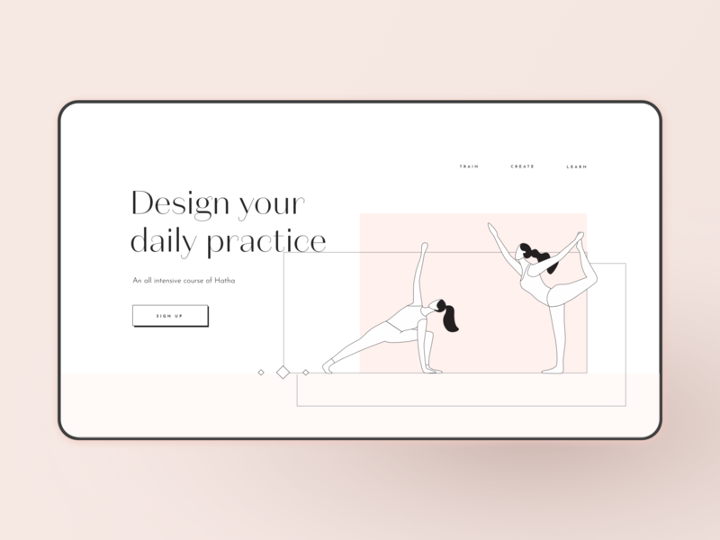 Yoga Practice Website yoga logo yoga pose yoga website hatha practice web design webdesign yoga