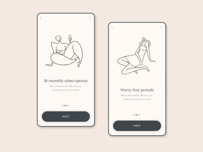 App on-boarding mobile