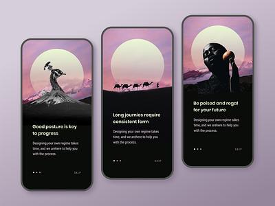 Posture App mobile