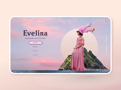 Evelina Portfolio web design