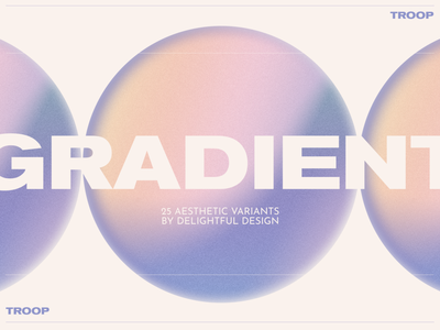 Troop Gradients branding