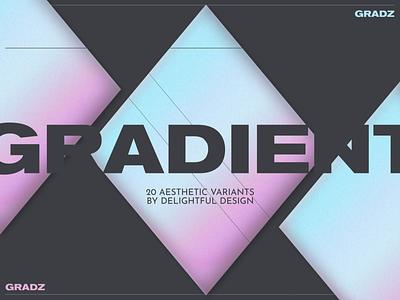 GRADZ: Gradient Backgrounds print printing backgrounds gradient gradz