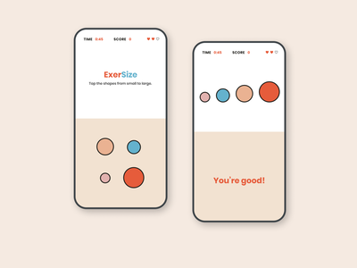 ExerSize Mobile Game mobile game