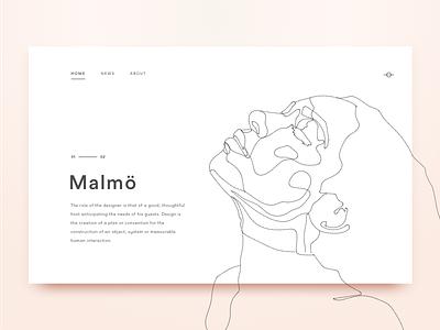 Malmo beige peach light design editorial home line malmo website minimal splash