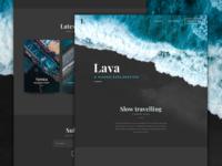 Lava Blog Template