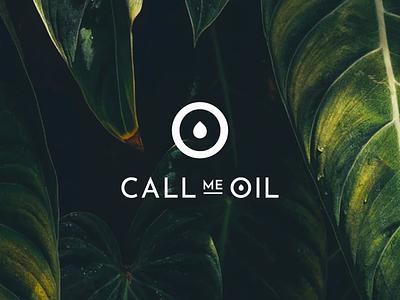 Call Me Oil Logo flora blogging blog aromatherapy essential oils logo