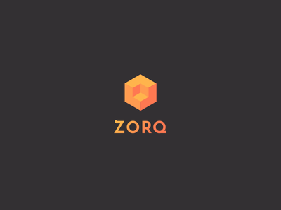 ZORQ orthographic isometric actions geometric logo projection creative market isometric