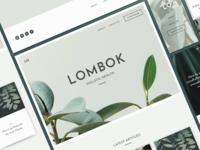 Lombok Website Theme